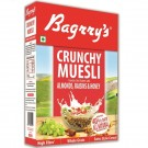BAGRRYS CRUNCHY MUESLI ALMONDS RAISINS & HONEY 500GM