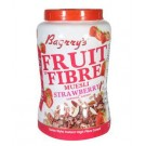 BAGRRYS FRUIT N FIBRE MUESLI STRAWBERRY JAR 1KG