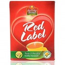 BROOKE BOND RED LABEL TEA BOX 250GM