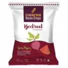 CORNITOS NACHO CRISPS BEET ROOT SPICY PEPPER 70GM