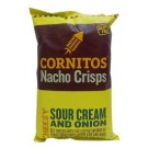 CORNITOS NACHO CRISPS SOUR CREAM AND ONION 150GM