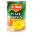 DEL MONTE PEACH HALVES 480GM