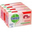 DETTOL SOAP SKINCARE WITH PURE GLYCERINE 4X75GM