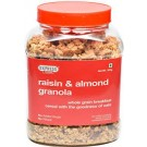 EXPRESS FOOD RAISIN & ALMOND GRANOLA JAR 1KG