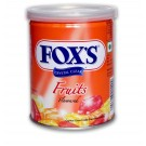 FOXS FRUITS FLAVOURED CANDY TIN 180GM