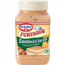 FUN FOODS SANDIWICH SPREAD THOUSAND ISLAND EGGLESS 300GM