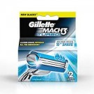 GILLETTE MACH3 TURBO IMPORTED BLADES 2CARTRIDGES