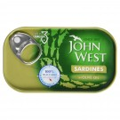 JOHN WEST SARDINESS IN OLIVE OIL 120GM