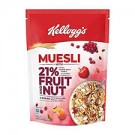 KELLOGGS MUESLI 21% FRUIT AND NUTS 500GM