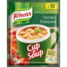 KNORR CUP A SOUP TOMATO CHATPATA 14GM