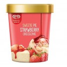 KWALITY WALLS ICE CREAM STRAWBERRY CHEESECAKE 750ML