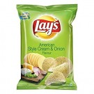 LAYS AMERICAN STYLE CREAM & ONION 78GM
