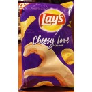 LAYS CHEESY LOVE FLAVOUR 50GM