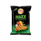LAYS MAXX PEPPERY CHEDDAR FLAVOUR POTATO CHIPS 57GM