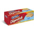 MCVITIES DIGESTIVE LIGHT BISCUITS 400GM