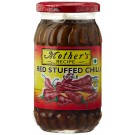 MOTHERS RECIPE RED STUFFED CHILLI PICKLE 400GM