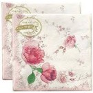 NAPKIN FLOWER 2PLY 20PICES