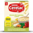 NESTLE CERELAC KHICHDI WITH VEGETABLES & GHEE 300GM