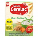 NESTLE CERELAC RICE VEGETABLES IRON FORTIFIED 300GM