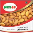 NUTS 4U ROASTED ALMONDS (BADAM) 200GM