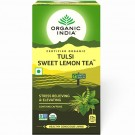 ORGANIC INDIA TEA TULSI SWEET LEMON TEA 25BAGS