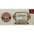 ORGANIC NATION GREEN TEA 25 TEA BAGS