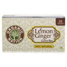 ORGANIC NATION LEMON GINGER GREEN TEA 25 BAG