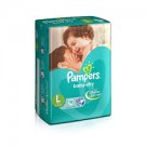 PAMPERS ACTIVE BABY 5STAR LARGE 18DIAPERS