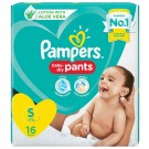 PAMPERS ALL-ROUND PROTECTION SMALL 16PANTS