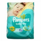 PAMPERS BABY DRY NB SMALL 11DIAPERS