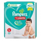 PAMPERS BABY DRY PANTS 20DIAPERS