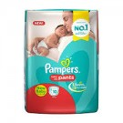 PAMPERS BABY DRY PANTS NEW BABY 10PANTS