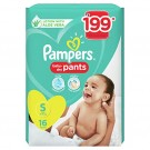 PAMPERS BABY DRY PANTS SMALL 16PANTS
