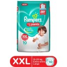 PAMPERS BABY DRY PANTS XXL 10PANTS