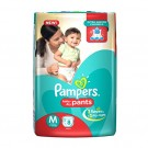 PAMPERS BABY PANTS DRY MEDIUM 8DIAPERS