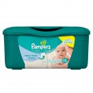 PAMPERS BABY WIPES WITH ALOE 72WIPES