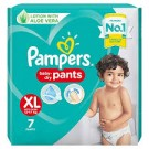 PAMPERS HAPPY SKIN PANTS EXTRA LARGE 5PANTS
