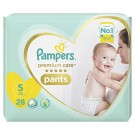 PAMPERS PREMIUM CARE PANTS SMALL 28PANTS