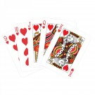 PLAYING CARD RED & GOLD 51