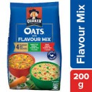 QUAKER OATS WITH FLAVOUR MIX 200GM