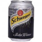 SCHWEPPES SODA WATER CAN 300ML