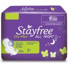 STAYFREE DRY MAX ALL NIGHT ULTRA DRY XL  7PADS