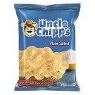 UNCLE CHIPS PLAIN SALTED 66GM